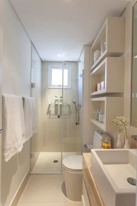 10 TIPS para aprovechar tu cuarto de baño pequeño - [GUÍA ...
