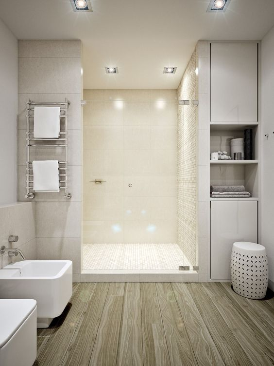 Los ba os sin ventanas tambi n pueden ser luminosos - Apliques de luz para banos ...