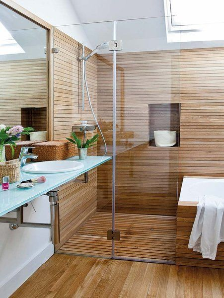 banera-y-ducha-en-madera