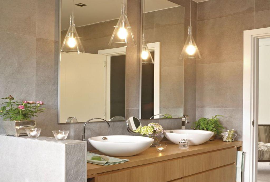 Iluminacion ba os los halogenos - Iluminacion para espejos de bano ...