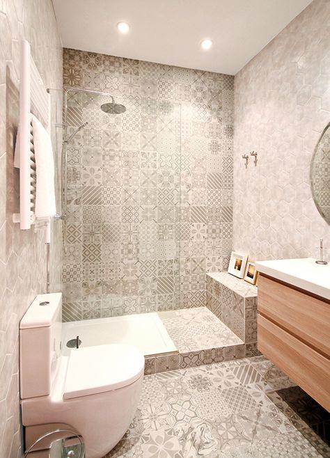 Consejos y trucos para iluminar tu cuarto de ba o for Apliques para ducha