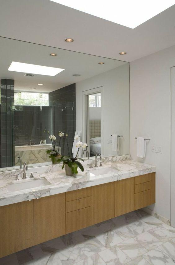 Si quieres descubrir que se lleva este a o en los cuartos for Fotos de cuartos de bano de marmol
