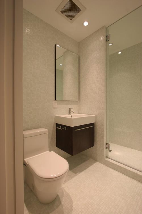 10 consejos para sacar el m ximo partido a tu cuarto de ba o peque o - Inodoro y lavabo en uno ...