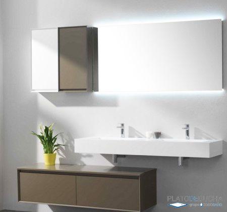 Trucos y consejos para conseguir un ba o compartido pr ctico for Muebles lavabo aki