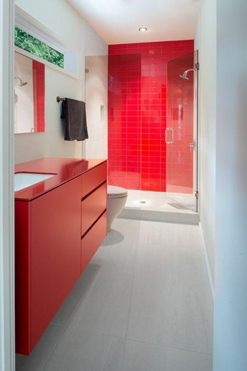 mueble-bano-rojo