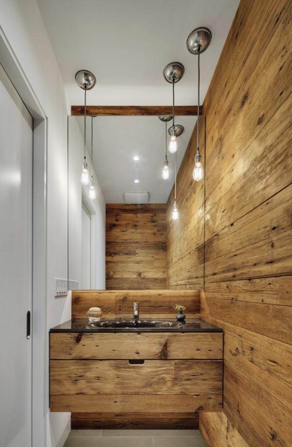 Cómo decorar tu cuarto de baño al estilo rústico