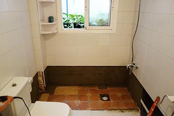 Cambio de plato de ducha en callosa de segura for Instalar plato ducha