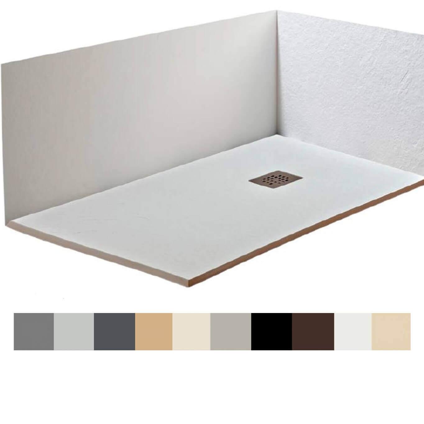 Platos De Ducha A Medida Baratos.Panel Revestimiento De Resina Y Carga Mineral