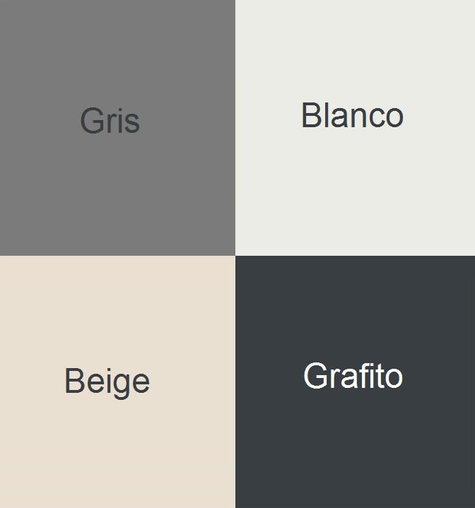 colores disponibles plato classic